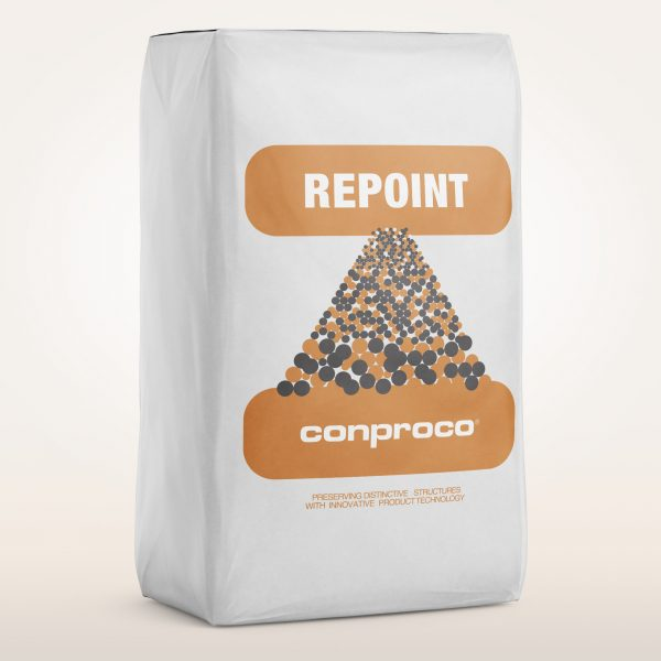 Repoint masonry in 50 lbs bag