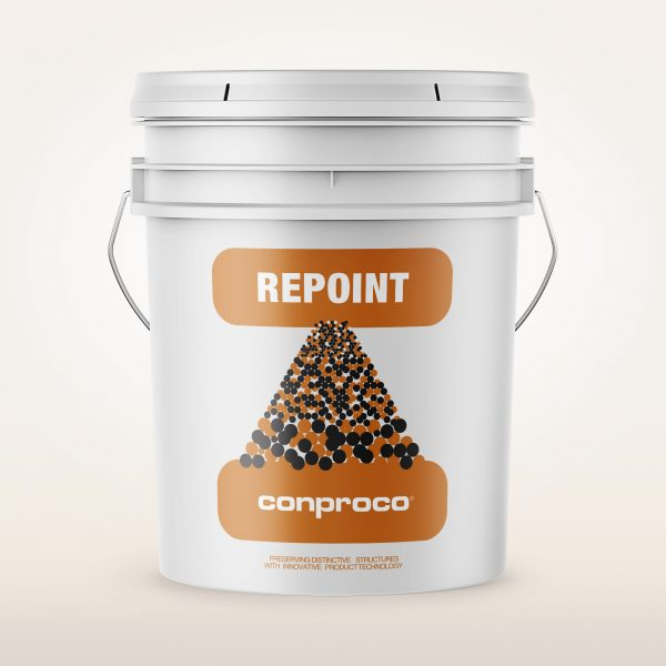 Repoint masonry in 5 gallon pail