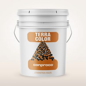 TerraColor 1 gallon pail of color matched coating for repairing terracotta
