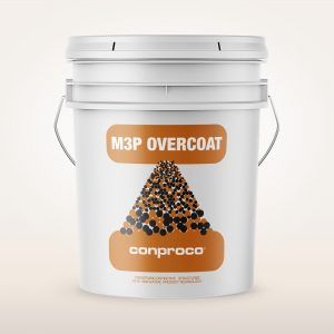 M3P Overcoat 5 gallon pail provides a breathable treatment for buildings